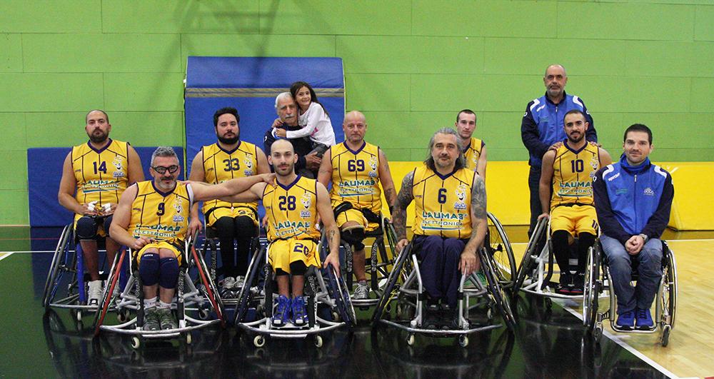 Wheelchair basket: a Villanova la prima di ritorno