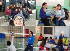 Sitting volley: Coppa Rotary e scuole