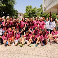 Torneo di sitting volley per l'ultimo giorno di scuola