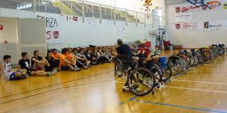 Dopo il sitting volley anche il wheelchair basket all'Università