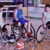 Candido Junior Camp: divertente scuola di wheelchair basket