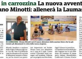 WHEELCHAIR BASKET: si riparte con Silvano Minotti