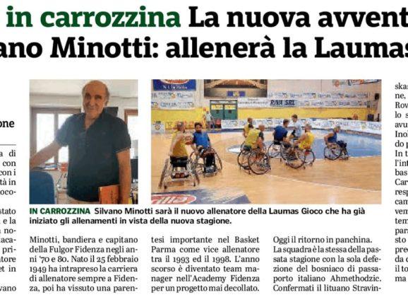 WHEELCHAIR BASKET: si riparte con Silvano Minotti