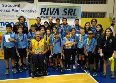 2018-10-21 Torneo Laumas GRUPPO SCOUT