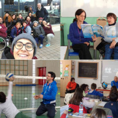 Sitting volley: Coppa Rotary e scuole