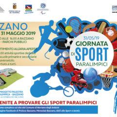 Bazzano: giornata degli sport paralimpici